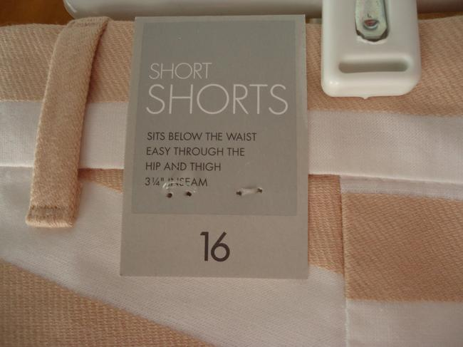 Gap New With Tags Shorts Blush/White