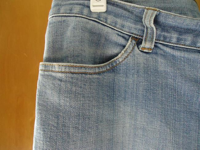 Gap Long And Lean Bohemian Relaxed Fit Jeans-Light Wash