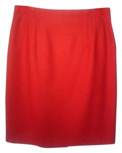 Norton McNaughton Skirt Red