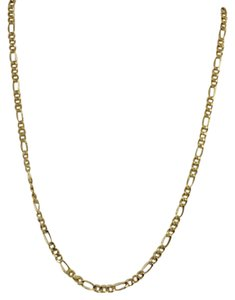 14K Yellow Gold Figaro Chain ~2.50mm 20 Inches