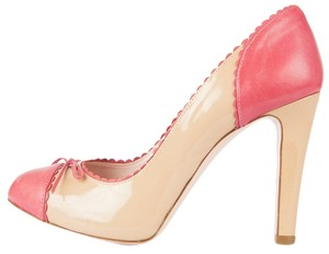 RED Valentino Beige & Pink Pumps