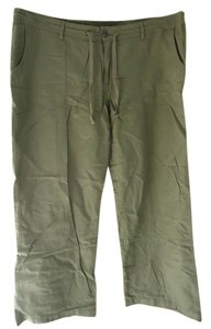 Gap Linen Nwt New With Tags Wide Leg Pants Olive/Army