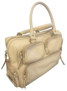 Kate Spade Leather Handbag Satchel in White