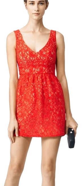 Preload https://img-static.tradesy.com/item/14865853/shoshanna-red-phoenix-above-knee-cocktail-dress-size-0-xs-0-3-650-650.jpg