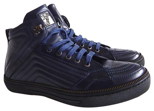 Preload https://img-static.tradesy.com/item/14866243/versace-navy-blue-new-quilted-leather-zip-men-high-top-sneakers-sneakers-size-us-9-regular-m-b-0-1-540-540.jpg