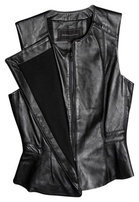 Preload https://img-static.tradesy.com/item/14866372/bcbgmaxazria-black-liu-leather-vest-size-2-xs-0-1-650-650.jpg