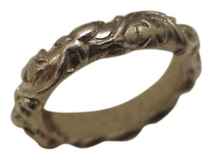 Estate Vintage Sterling Silver 925 Wedding Band Ring, 1930s