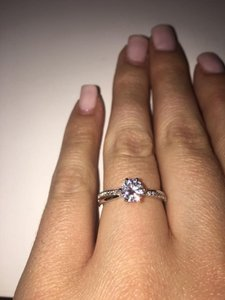 Solitaire Engagement Ring / Promise Ring