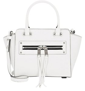 MILLY Tote Leather Cross Body Bag