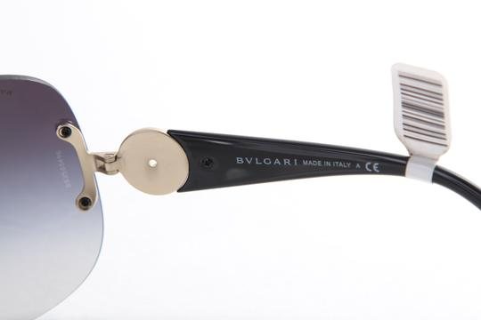BVLGARI * Rare!! BVLGARI Shield Sunglasses 6064-B