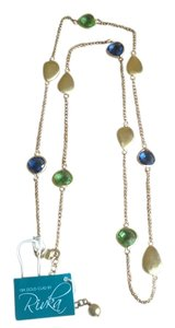 Rivka Friedman Rivka Friedman 18k Gold Clad Long Station Necklace
