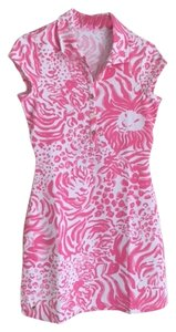 Lilly Pulitzer short dress Resort White and Pink on Tradesy