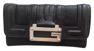 Guess GUESS Women's Purse Tami Slim SLG Wallet Black Logo Clutch