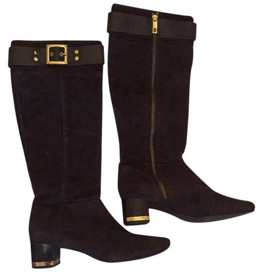 Preload https://item3.tradesy.com/images/tory-burch-dark-chocolate-suede-medium-bootsbooties-size-us-9-regular-m-b-14867932-0-1.jpg?width=440&height=440