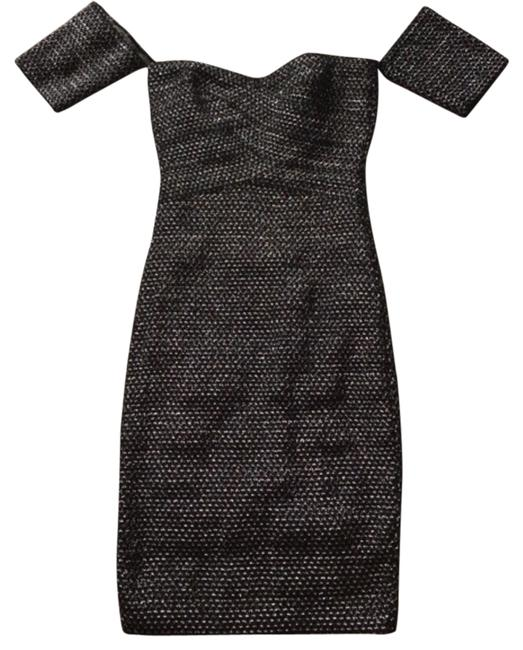 Preload https://item1.tradesy.com/images/black-and-silver-shimmer-above-knee-night-out-dress-size-4-s-14868040-0-1.jpg?width=400&height=650