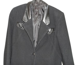 Newport News Black Blazer