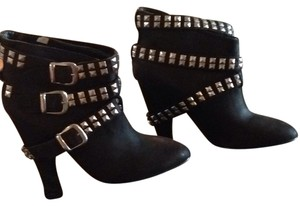 Zara Black with silver studs Boots