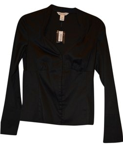 White House | Black Market Xs Button Down Shirt Black