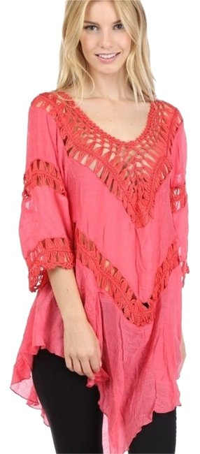 Preload https://item1.tradesy.com/images/my-beloved-coral-blouse-size-8-m-14868610-0-1.jpg?width=400&height=650