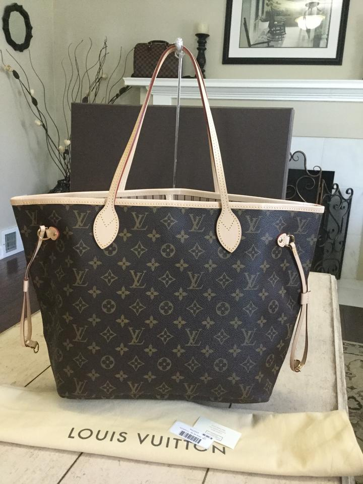 5500baa8483f Louis Vuitton Neverfull 2016 Mm Comes with Box Dustbag and Date Code ...