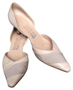 Salvatore Ferragamo Natural/nude Pumps
