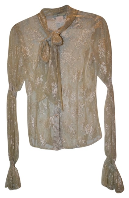 Preload https://item4.tradesy.com/images/marciano-nude-lace-blouse-size-0-xs-14868733-0-1.jpg?width=400&height=650