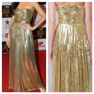 KM Collections Gold Gldn Dress