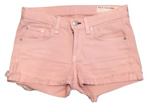 Rag & Bone Mini/Short Shorts Salmon
