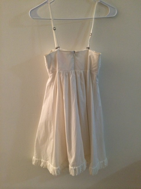 Rebecca Taylor short dress White Feminine Sexy on Tradesy