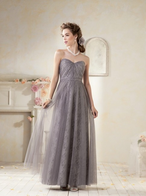 Item - Cameo Soft Net Over All Over Lace Style 8614l Vintage Bridesmaid/Mob Dress Size 12 (L)