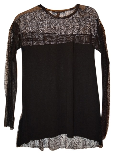 Preload https://item5.tradesy.com/images/bcbgmaxazria-black-tunic-size-2-xs-14869639-0-1.jpg?width=400&height=650