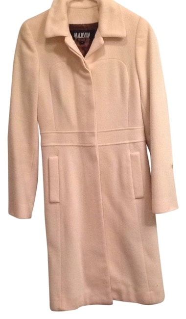 Preload https://item4.tradesy.com/images/marvin-richards-cream-coat-size-4-s-14869693-0-1.jpg?width=400&height=650