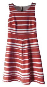 INC International Concepts short dress Red/White on Tradesy