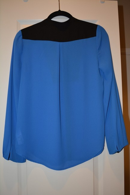 Juicy Couture Tuxedo Black Top Allure Blue