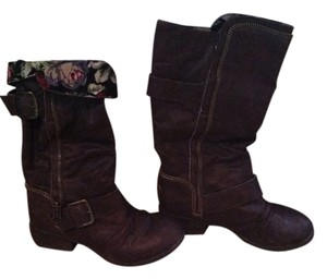 Rocket Dog Dark Brown Boots