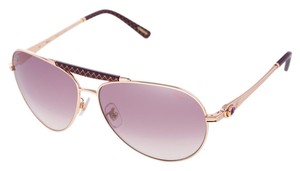 Chopard Brand New Authentic Chopard Sunglasses SCH 870 Pink Gold Aviators