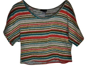 Rue 21 Crop Top Striped