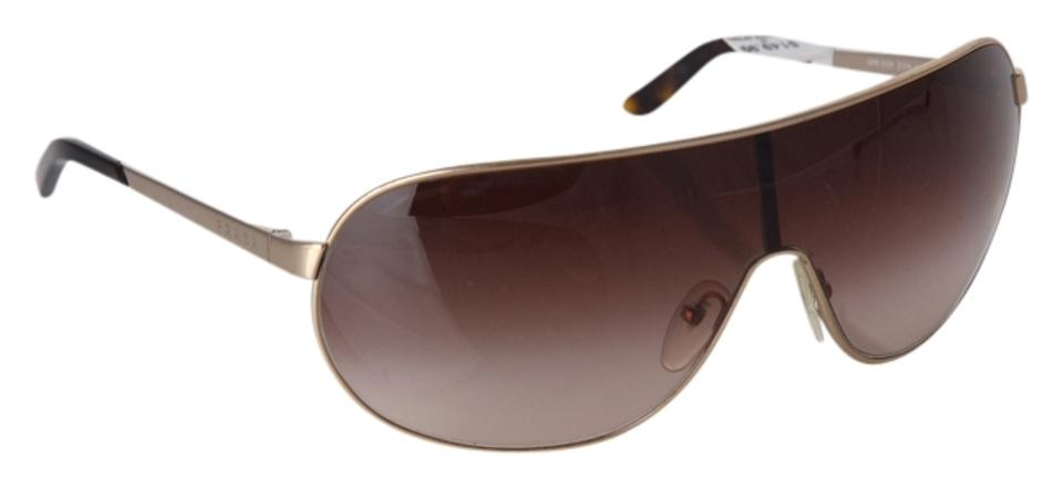 cd019332ba Prada Silver Havana Back Arms   Shield Spr 60n Sunglasses - Tradesy