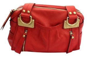 B. Makowsky Satchel in Red