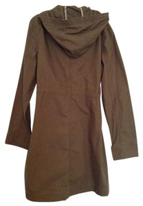 Old Navy Hooded Drawstring Khaki Hooded. Olive,