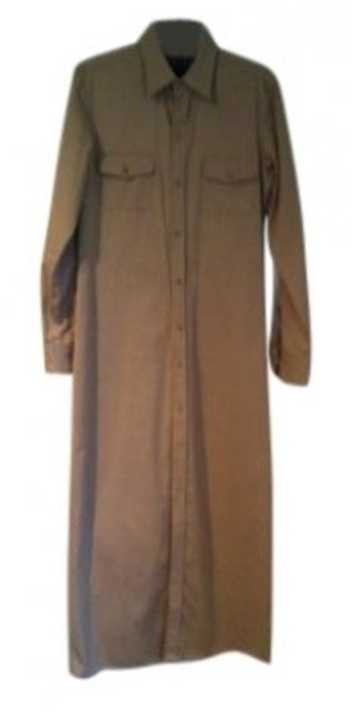 khaki Maxi Dress by Ralph Lauren