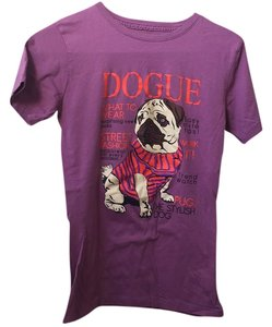 Three for Twelve T Shirt Purple