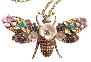 Betsey Johnson bug pendant