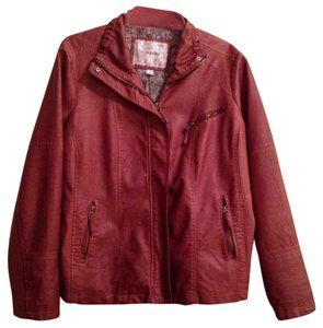 Maurices Cognac Leather Jacket
