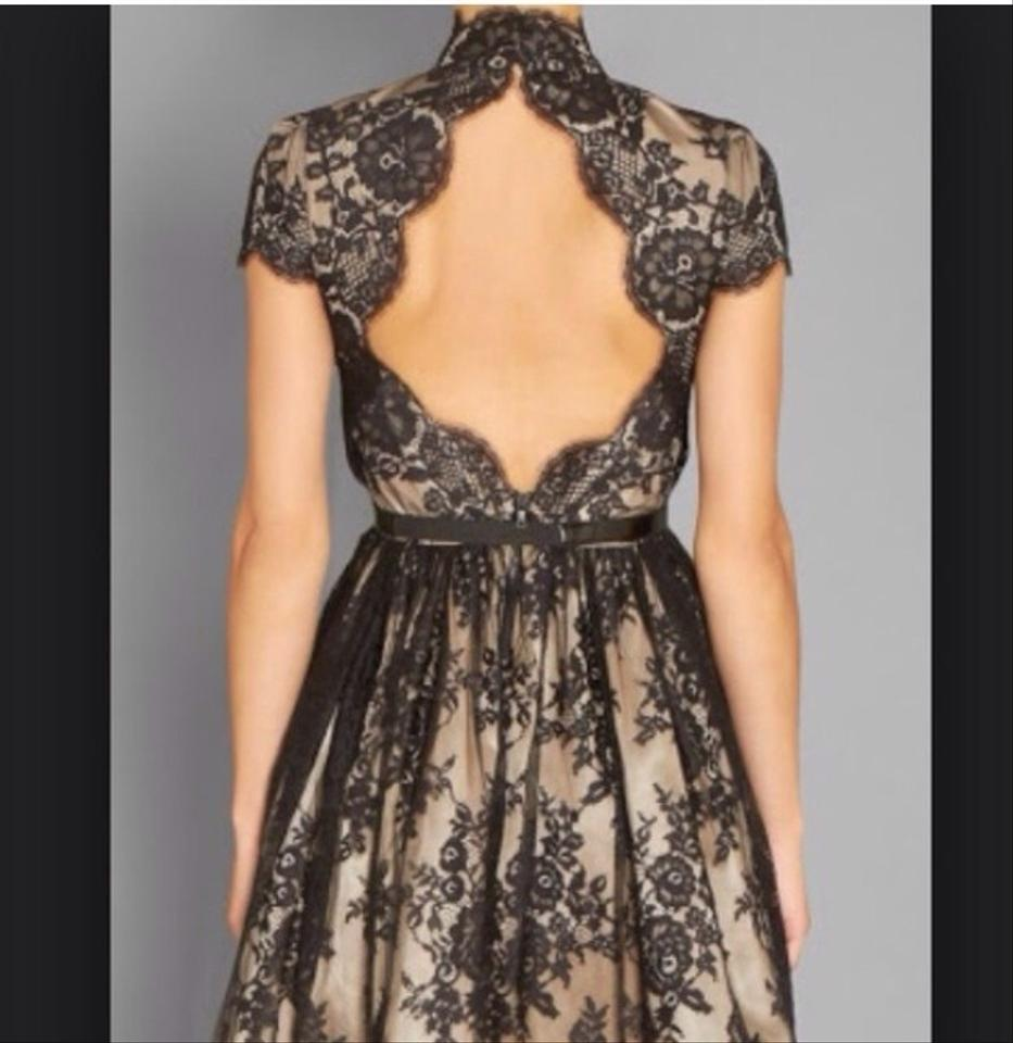 Dress Jayla Black Cocktail Olivia Alice Nude Lace ZYxqF