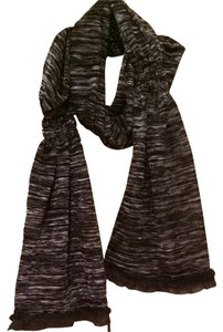 Victoria Stass Luxury Scarf w/ Mink Trim