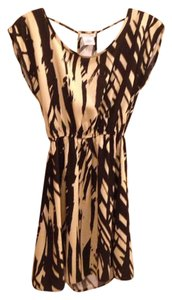 f18530f383 Charlotte Russe Dress. Charlotte Russe Cream and Black Print Cocktail ...