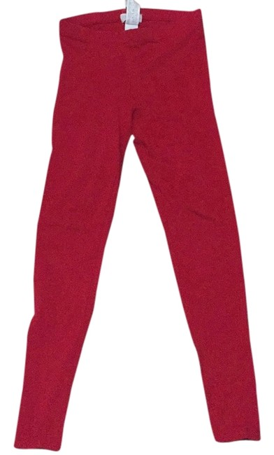 Item - Red Leggings Size 4 (S, 27)