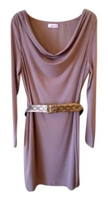 Preload https://img-static.tradesy.com/item/148722/calvin-klein-taupe-rn54163-knee-length-workoffice-dress-size-10-m-0-0-650-650.jpg