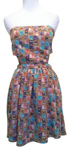 Forever 21 short dress Multi color on Tradesy